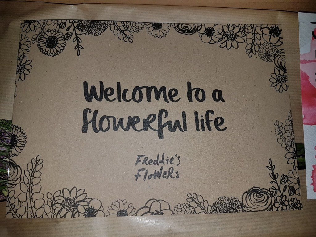 Freddie's Flowers flowerful life review by Fresh Design Blog