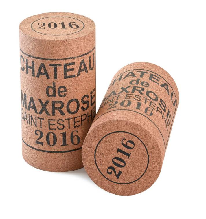 Extra large bordeaux wine cork stool