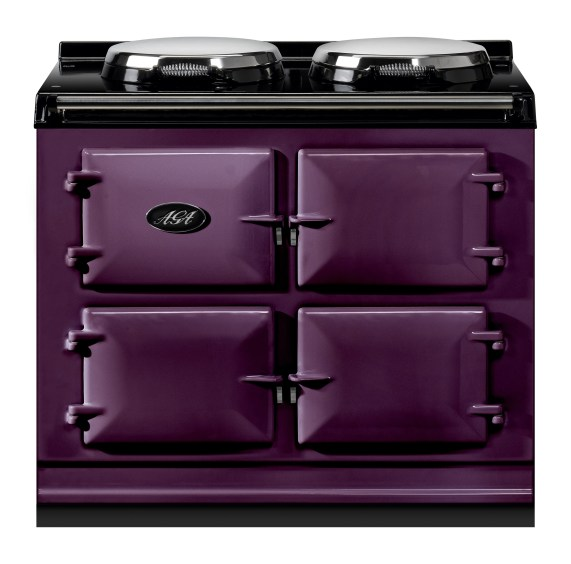 Gorgeous purple Aga oven