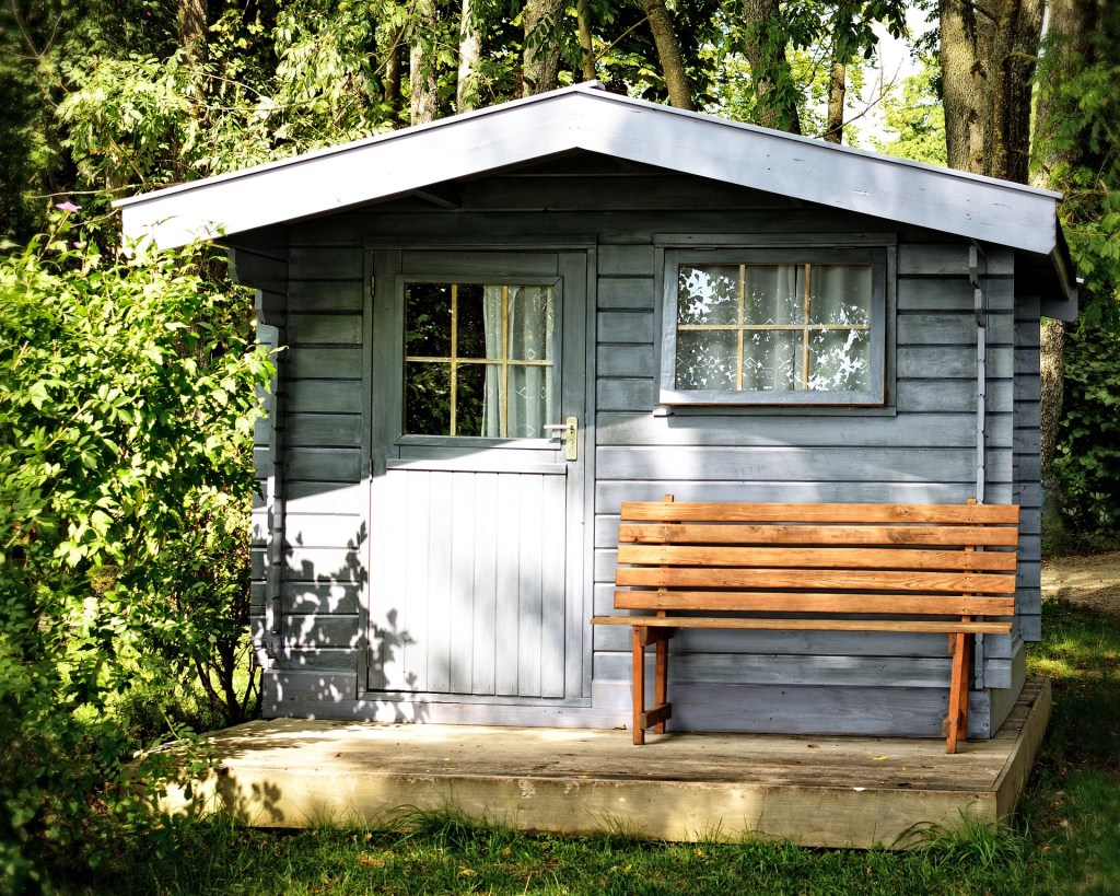 If you need extra storage for gardening equipment or bikes, why not have a shed