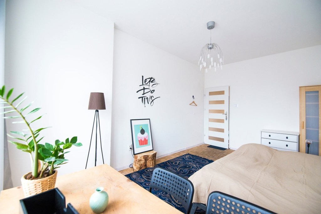 Make more use of your guest bedroom by making it a multi-function space