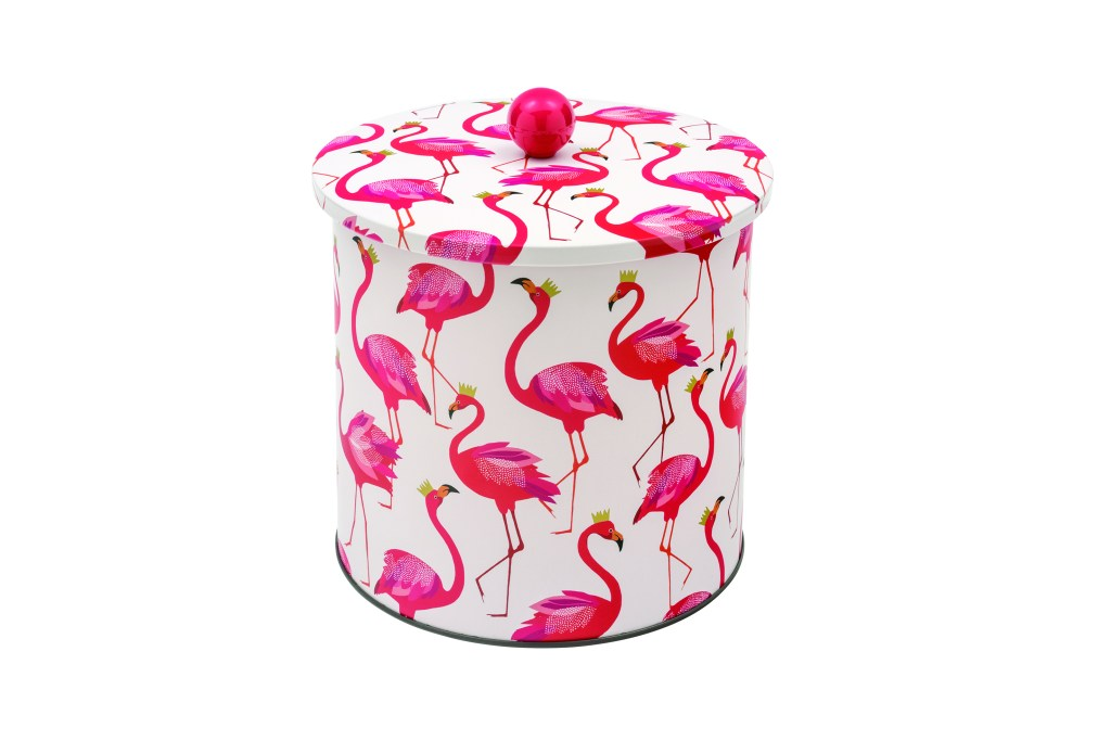Love this fab biscuit barrel tin design!