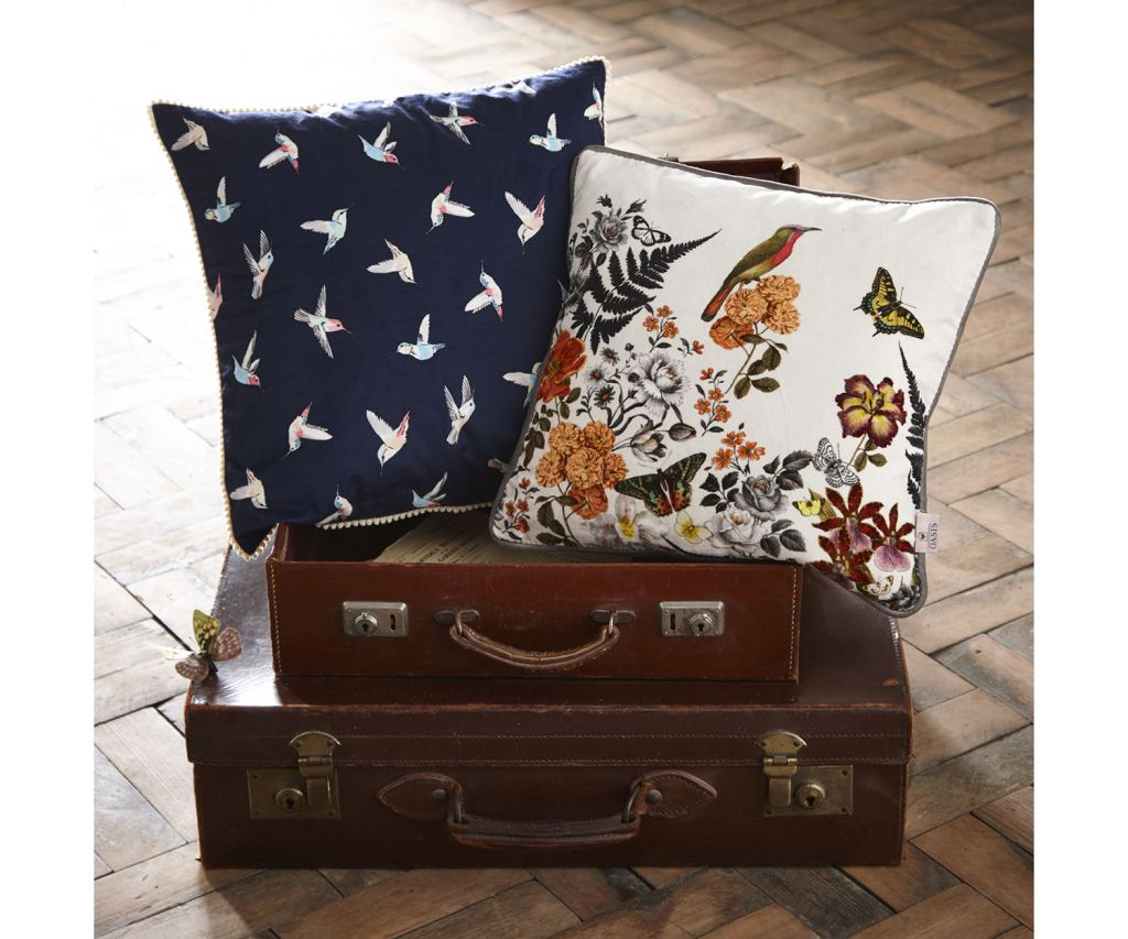 Oasis now sell homeware, including cushions and beddings