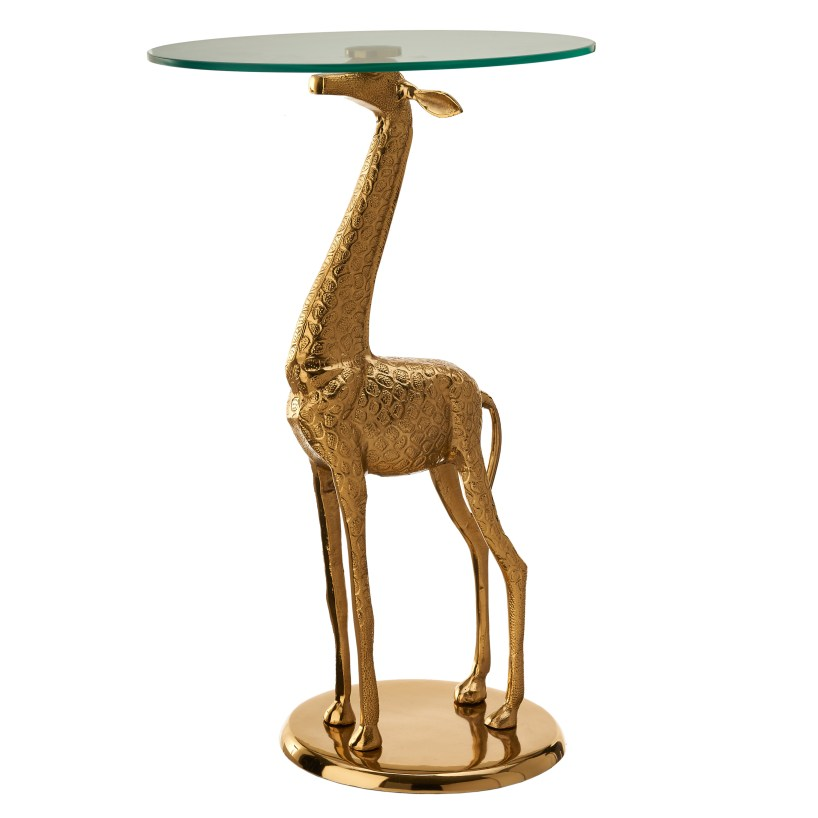 Love this giraffe side table, what a talking point!