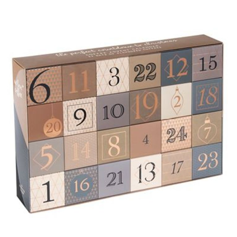Countdown to Christmas with the help of a coffee themed advent calendar