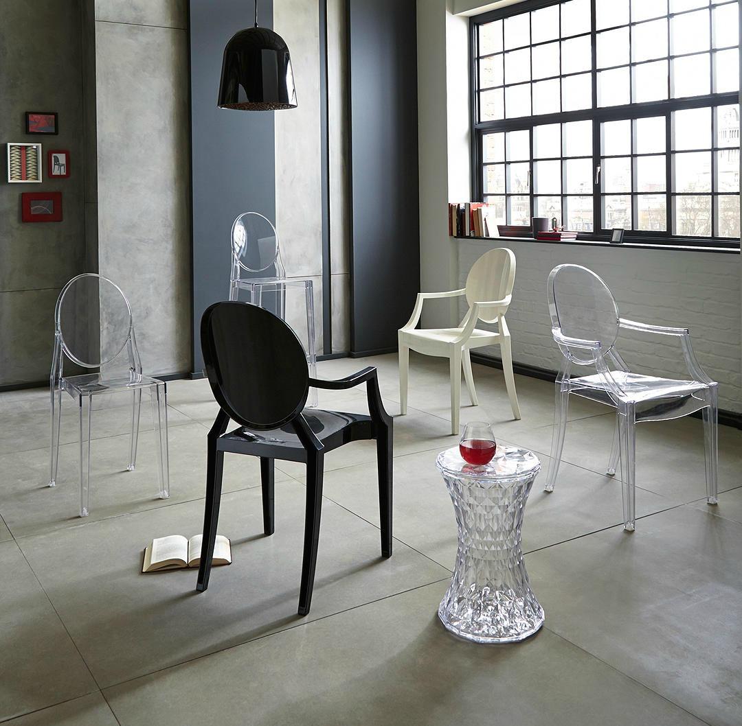 Phillipe Starck for Kartell Louis ghost chair