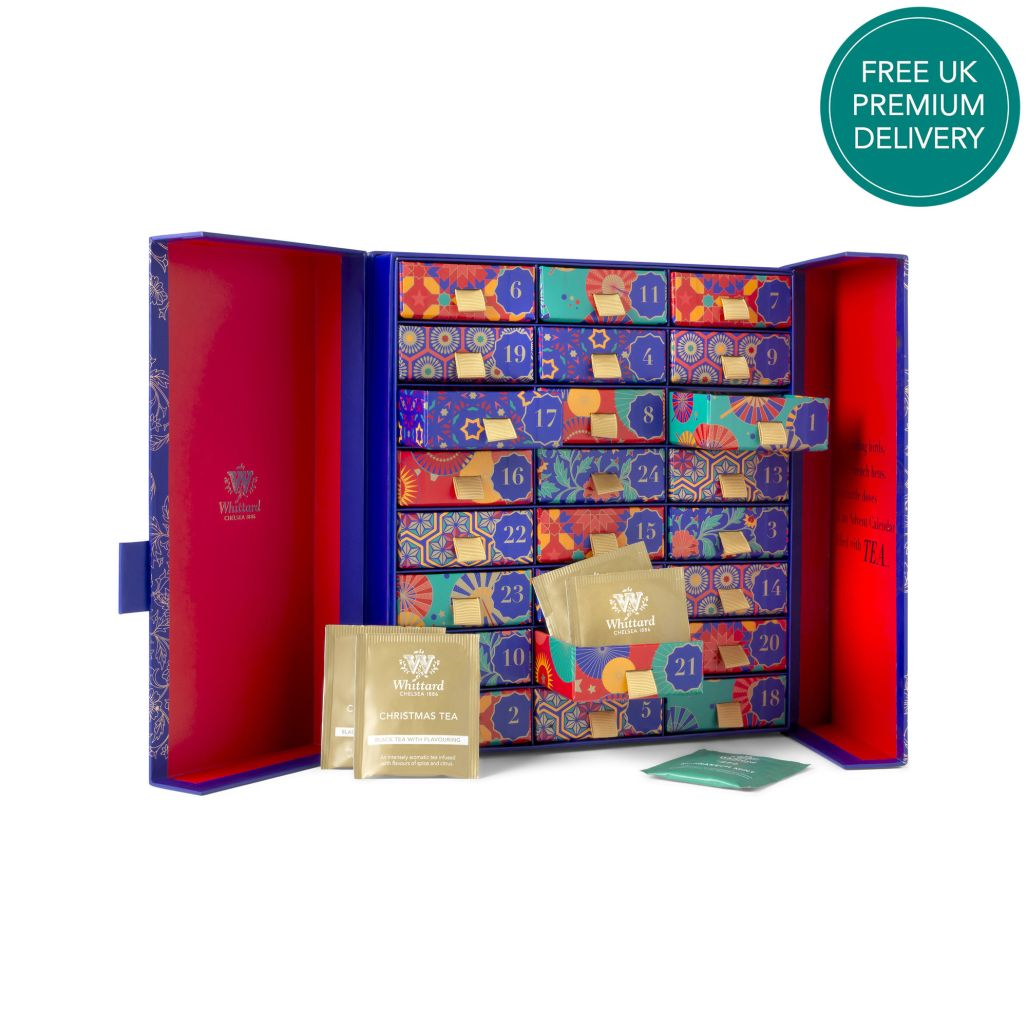 Love tea? Drink your way to Christmas with this stunning tea themed advent calendar from Whittard