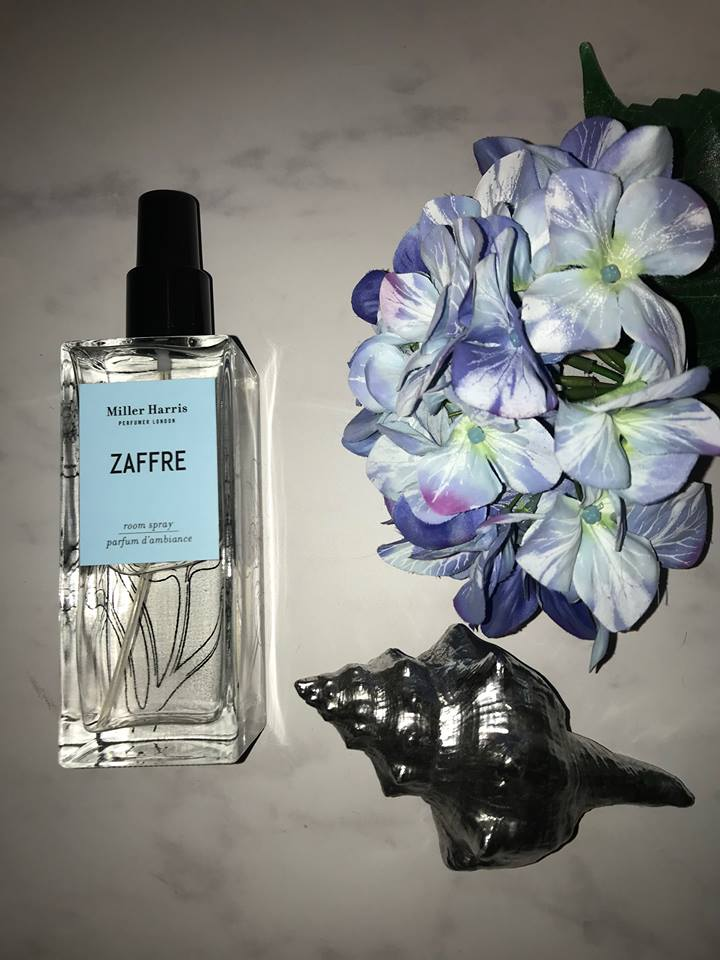 Unleash the fresh scent of Zaffre in your home with this gorgeous luxury room spray