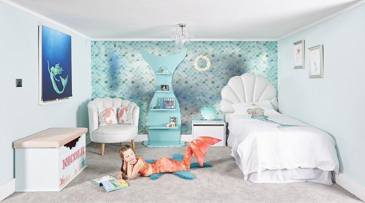 Mermaid interior design room package by Reroom
