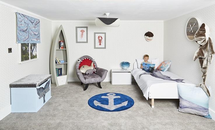 Underwater bedroom room package interior design theme