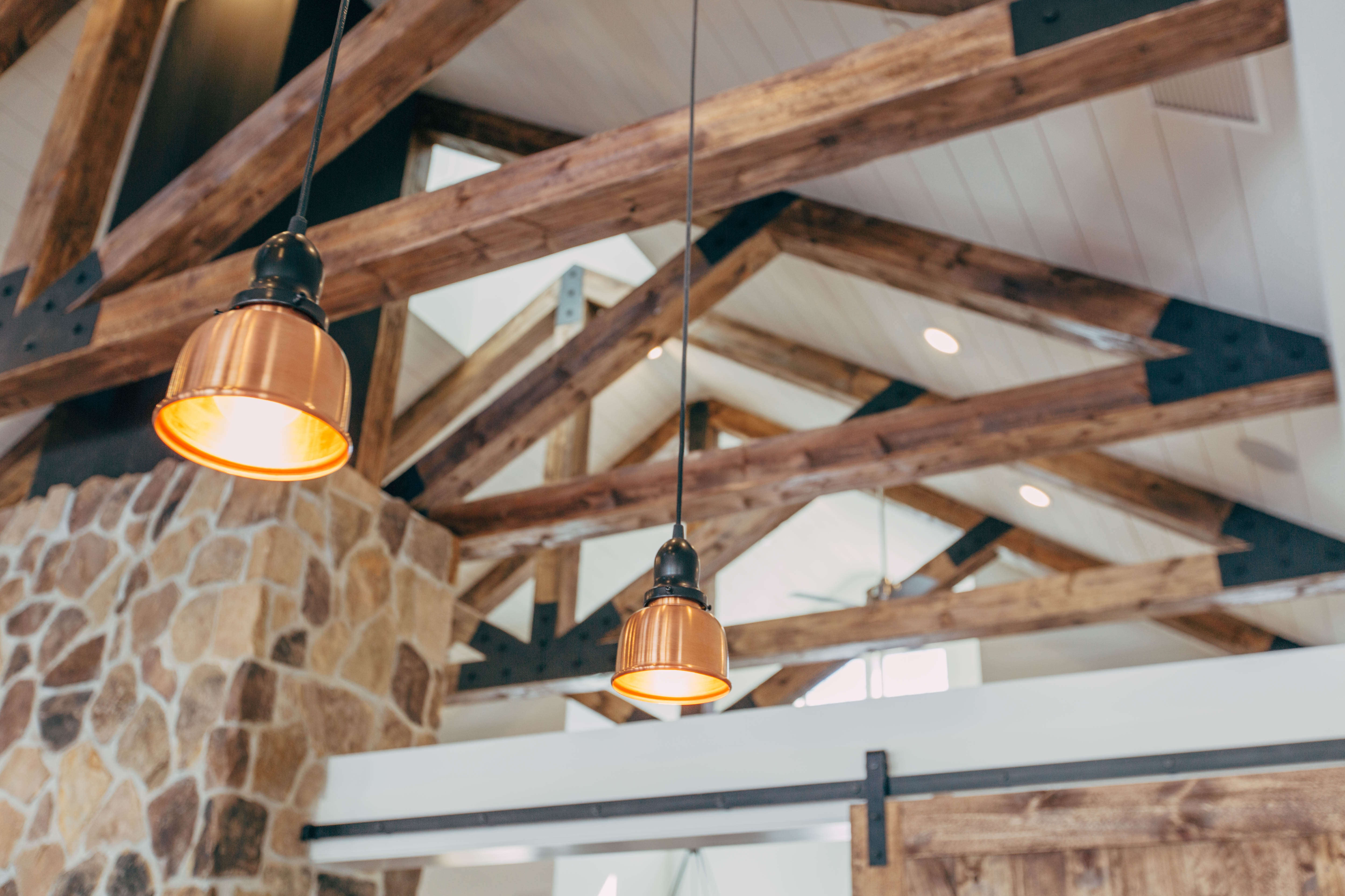 Update old light fixtures to options that work better with the design of your home