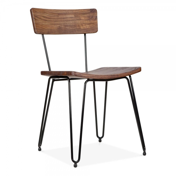 Lovely hairpin chair that's perfect for a zen-inspired interior