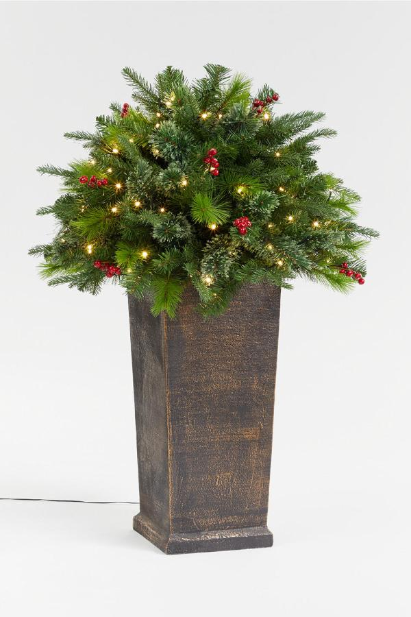 Outdoor Christmas Trees To Decorate Your Outside Space