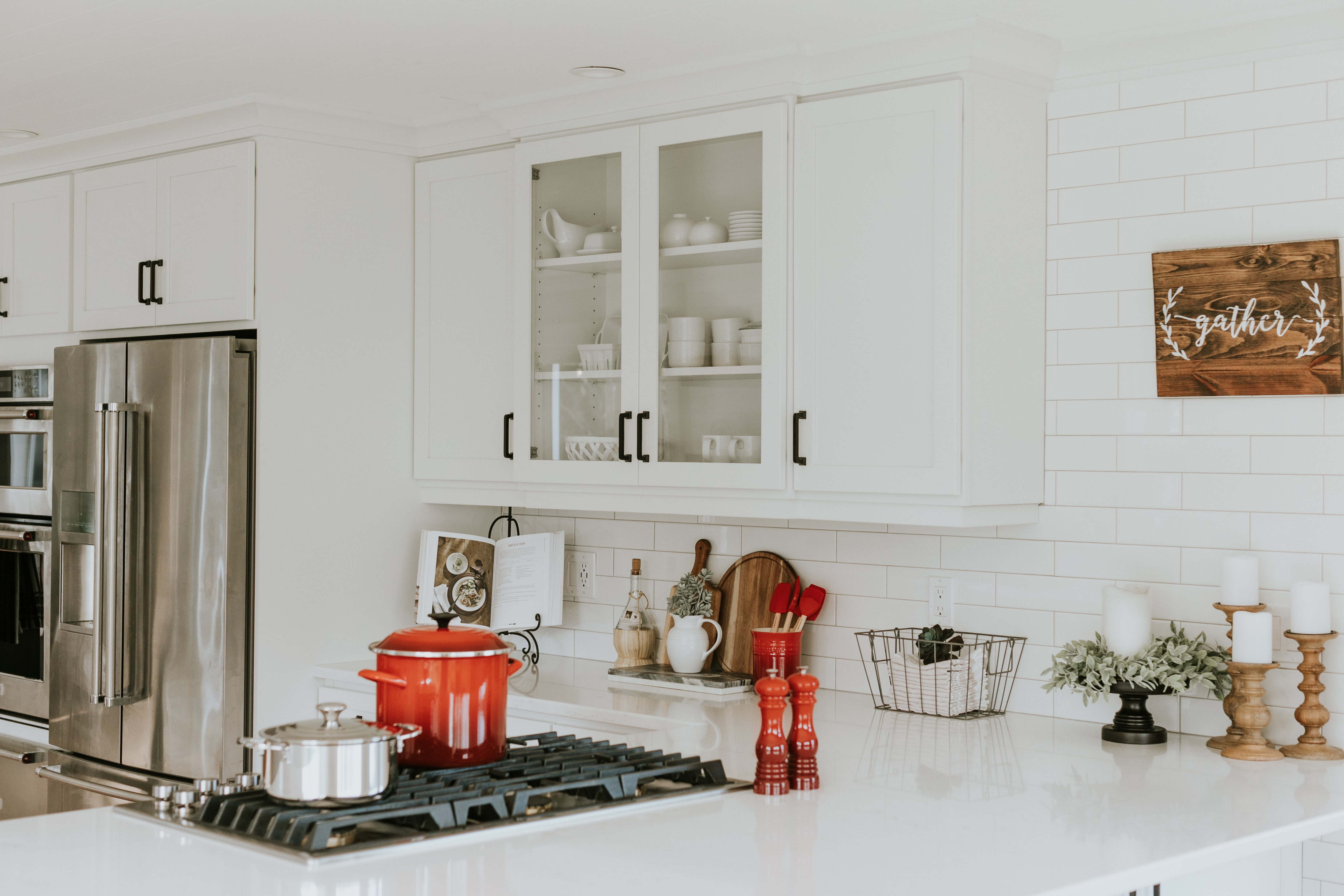 An updated kitchen attracts buyers to your property