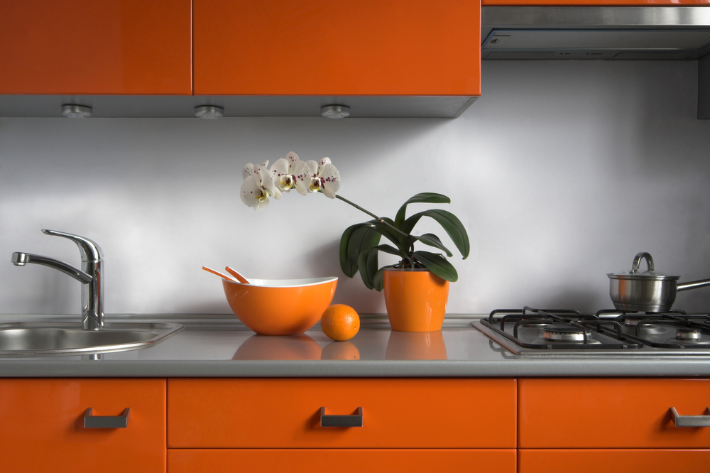 Transform the look of your kitchen with a pop of colour