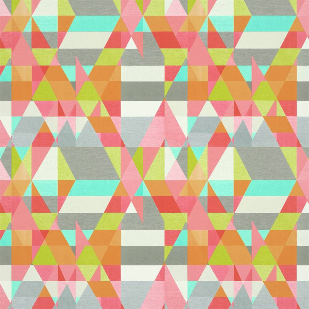 Contemporary Scion Axis wallpaper in a lovely bright geometric design