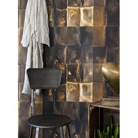 Mind the Gap Shibu copper wallpaper from Lagoon
