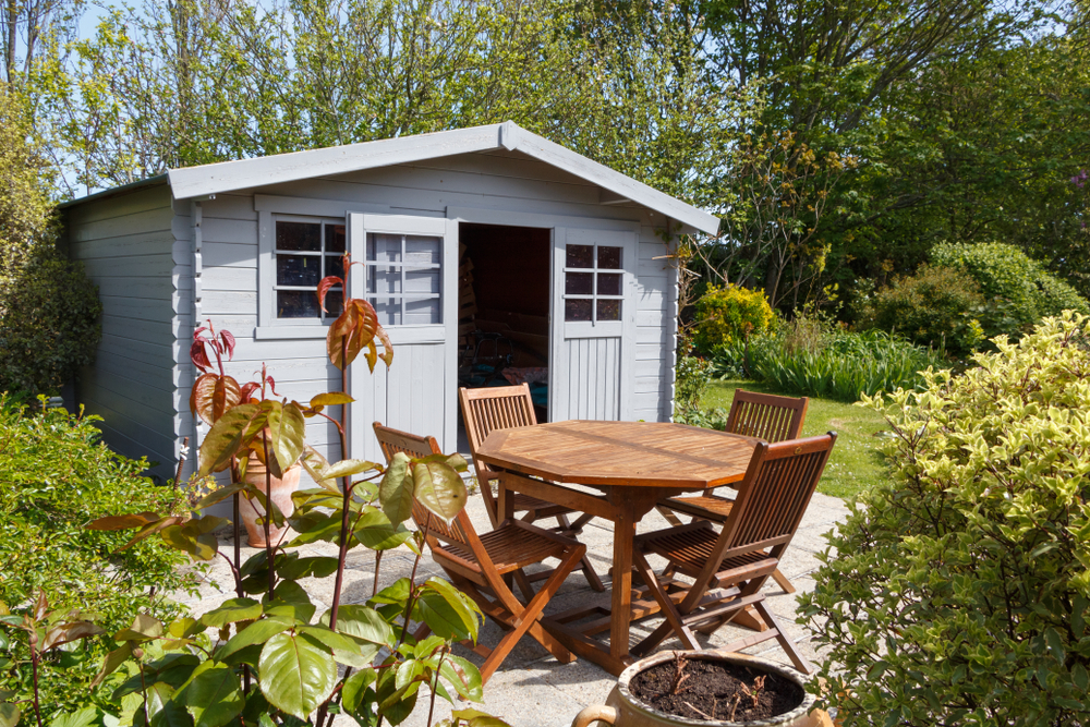 Painting your shed - inside and out - can transform it from a scruffy wooden building to a stylish outdoor pad
