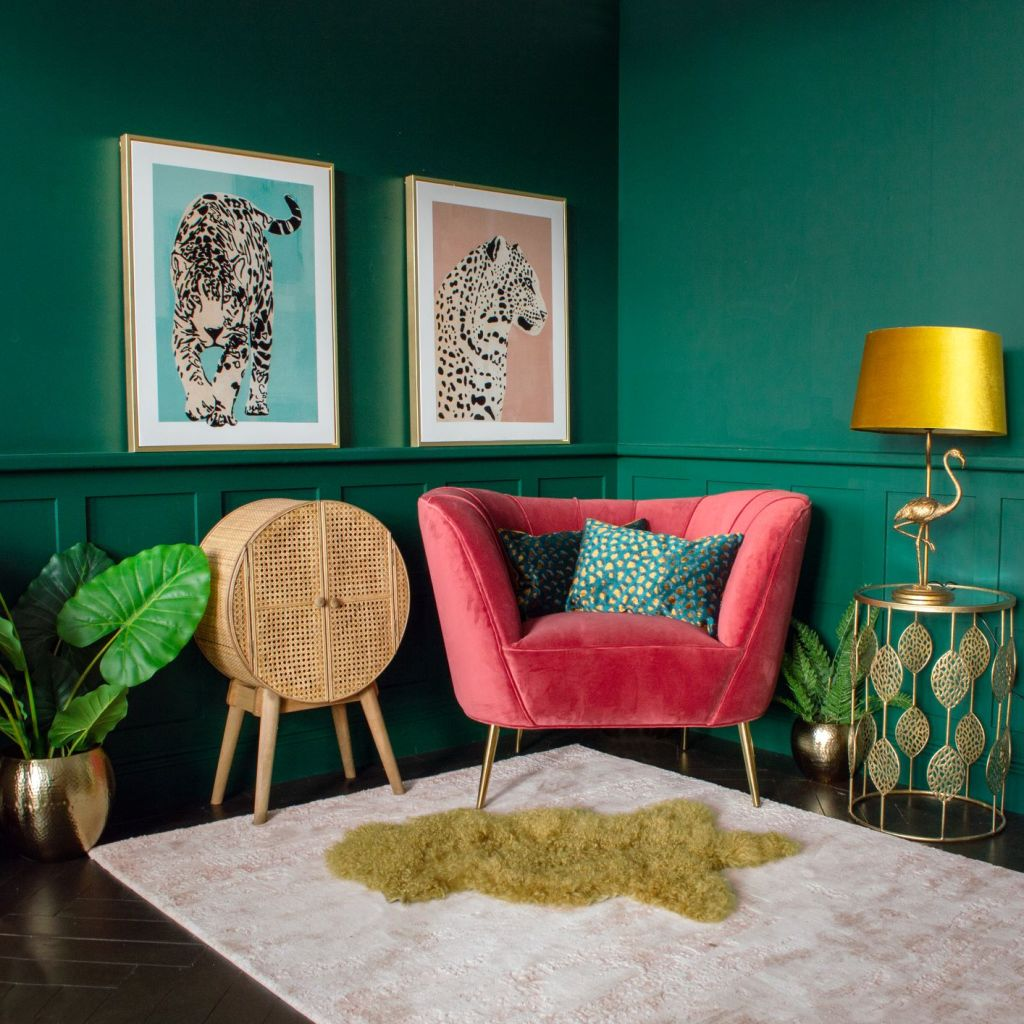 Bright and bold decorating ideas from Audenza