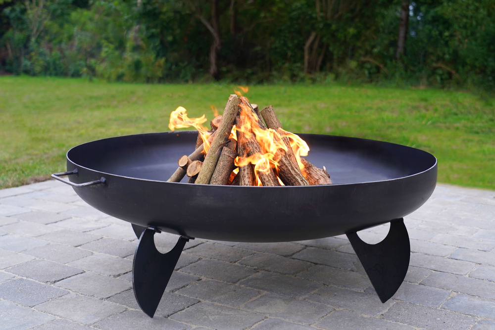 A fire pit is a garden must-have for 2021