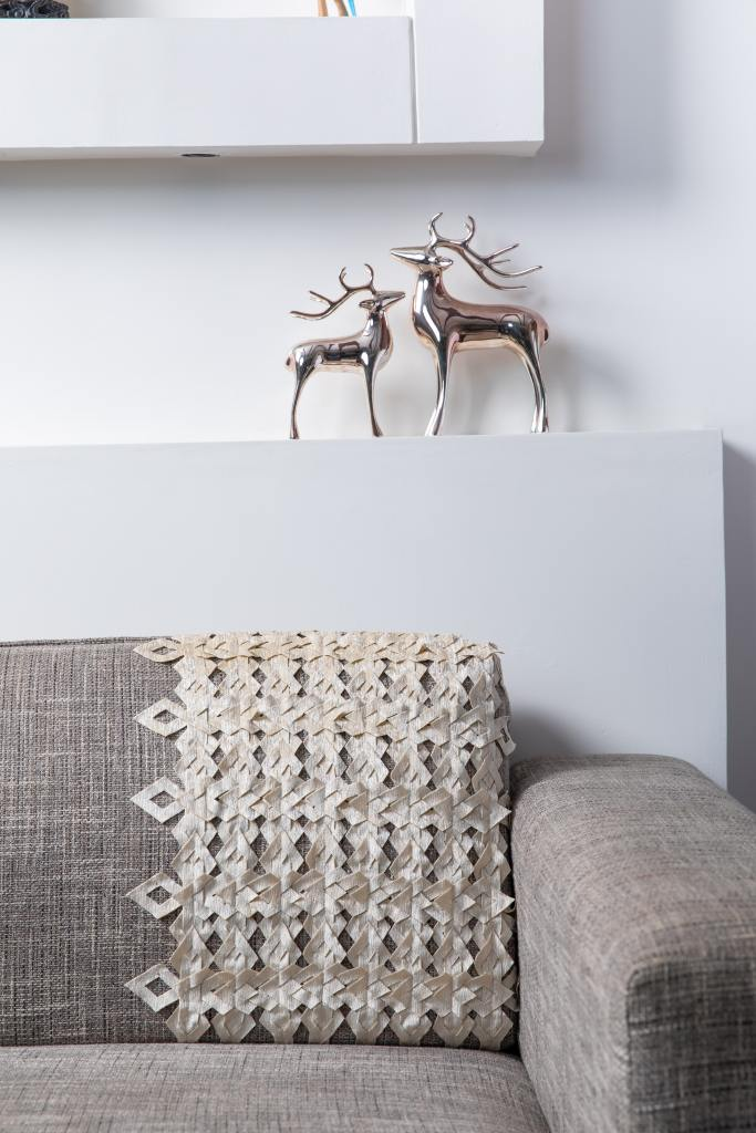 Decorative cushion and decorative accessories help make a home more personal