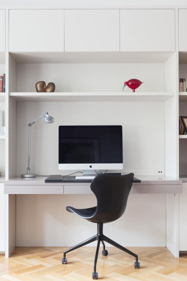 Setting Up Storage Space in a Home Office