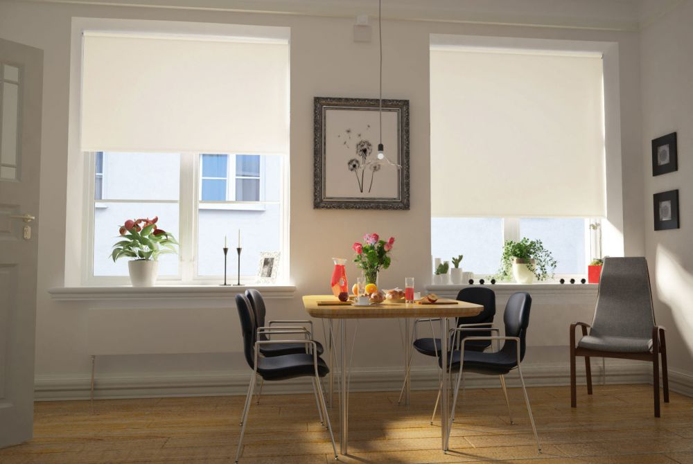 Electric roller blinds add a modern techno touch to your home