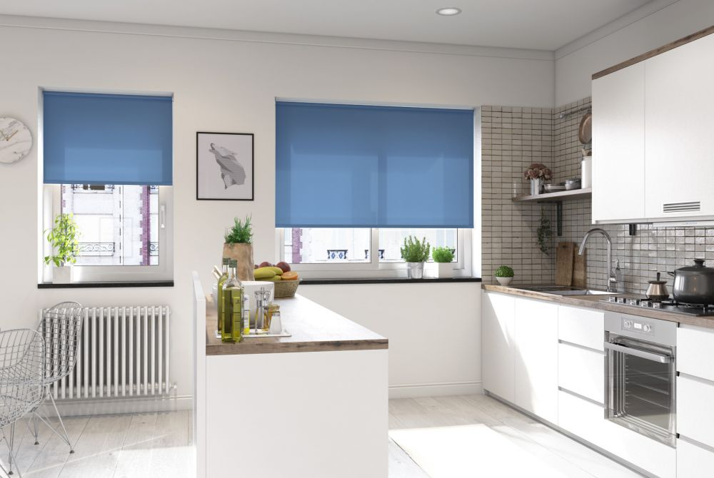 Palermo roller blinds are ideally suited for family homes