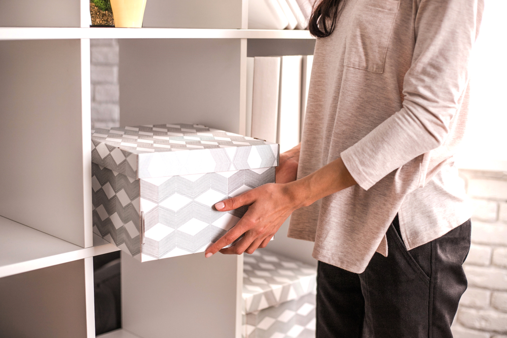 Home storage solutions make tidying up easier