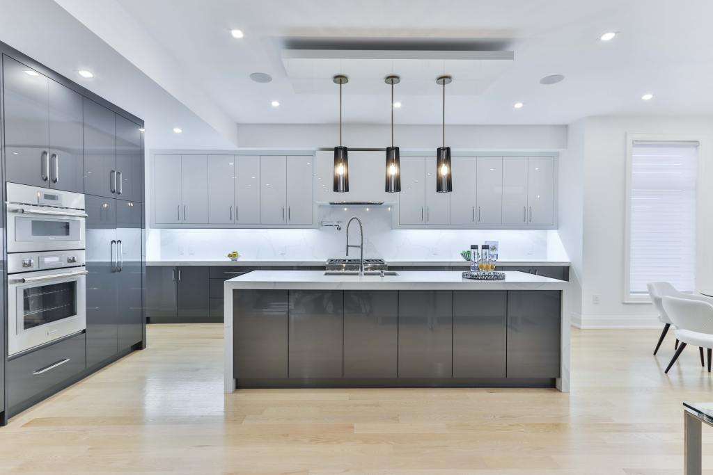 Built-in appliances can help streamline the look of modern kitchens