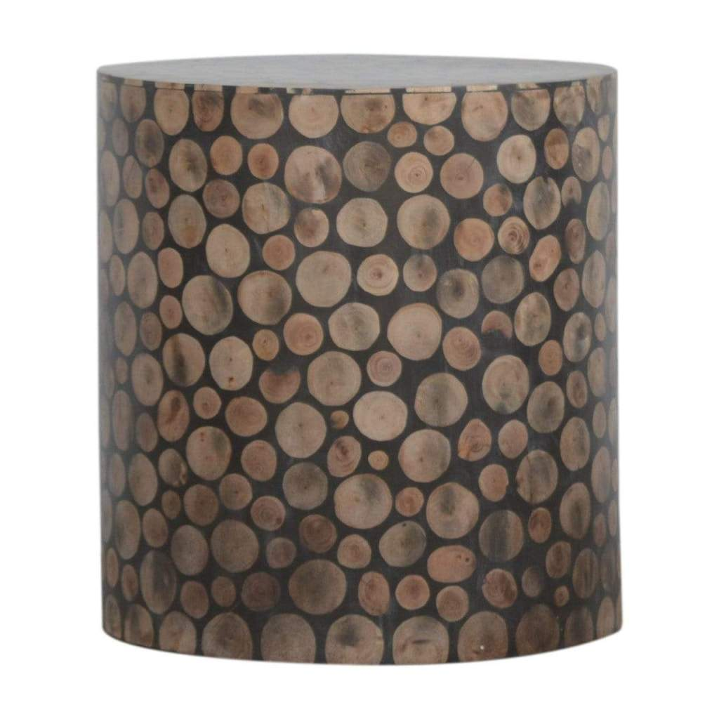 Tree trunk style footstool, The House Office