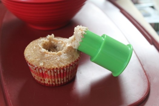 cupcake corer for filling cupcakes