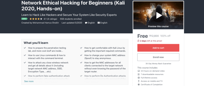 Network Ethical Hacking for Beginners (Kali 2020, Hands-on)