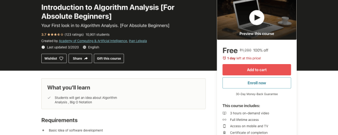 Introduction to Algorithm Analysis [For Absolute Beginners]