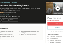 WordPress for Absolute Beginners
