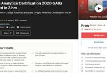 Google Analytics Certification 2020 GAIQ Certified In 3 hrs