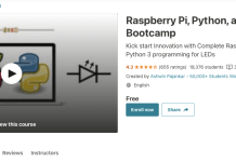 Raspberry Pi, Python, and Electronics Bootcamp