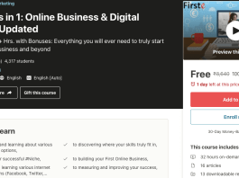 50 Courses in 1: Online Business & Digital Marketing Updated