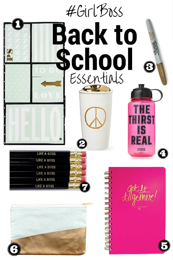 #GirlBoss Back to School Essentials | Fresh Fit Florida