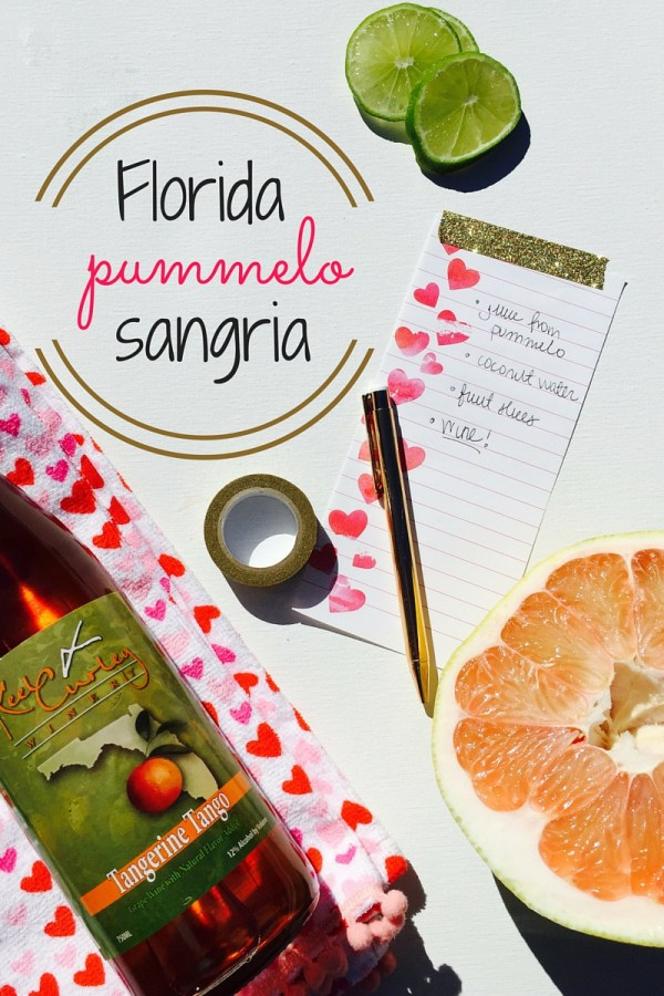 Fresh From Florida Pummelo Sangria
