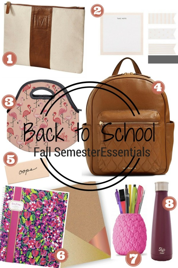 Back to School Fall | Fresh Fit Florida