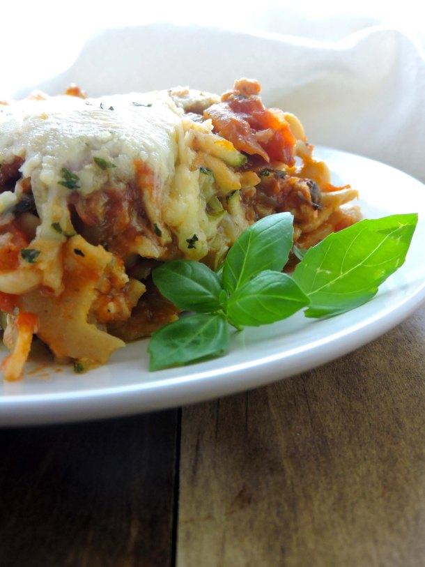 Zucchini Stuffed Lasagna