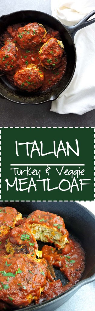 Italian Turkey Veggie Meatloaf