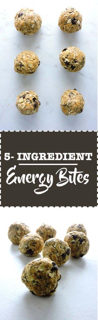 5 Ingredient Energy Bites
