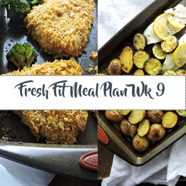 Fresh Fit Meal Plan Guide Week 9
