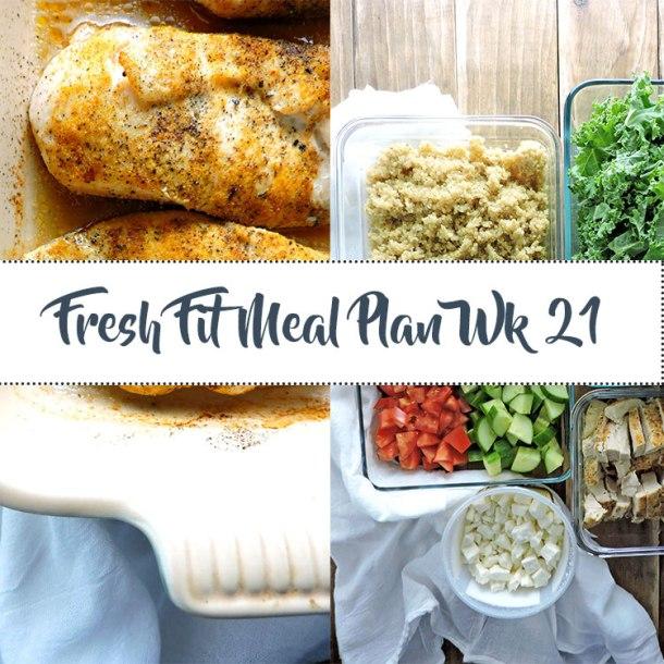Fresh Fit Meal Plan Guide Week 21