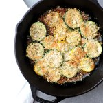 Parmesan Zucchini Skillet