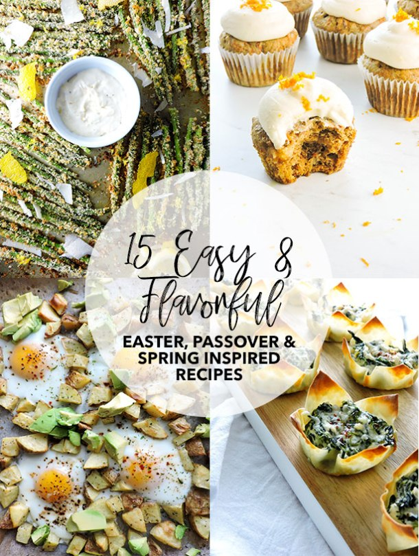 Easter and Passover Meal Idea Round Up - Fresh Fit Kitchen