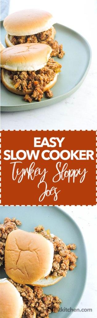 Easy Slow Cooker Turkey Sloppy Joes
