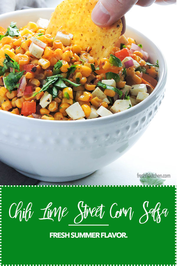 Chili Lime Street Corn Salsa